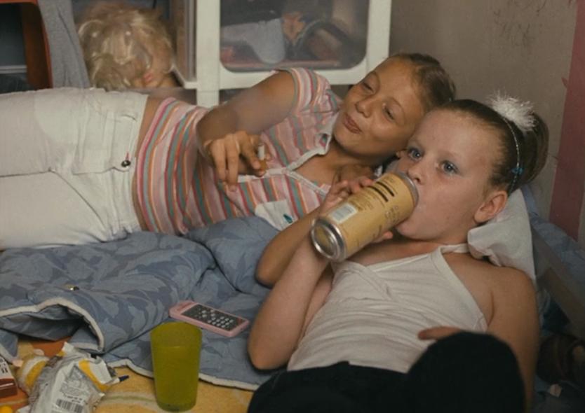 Two lesbian teen girls having a sexual 2