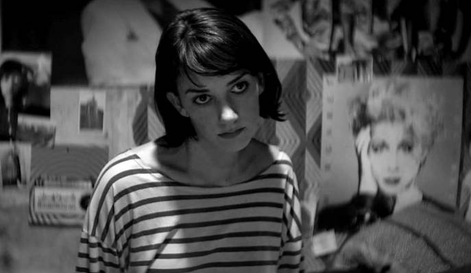 Sheila Vand Zooey DeSchanel A girl walks home alone at night