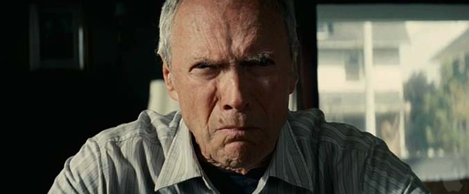 clint eastwood gran torino angry old man