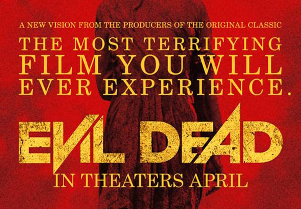 evil dead the most terrifying film poster