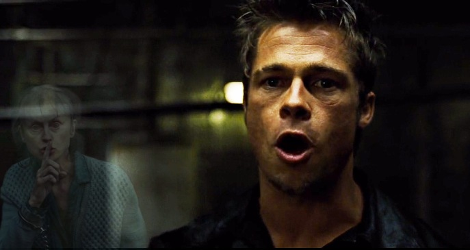 Brad Pitt First rule Fight Club exorcist shutter island