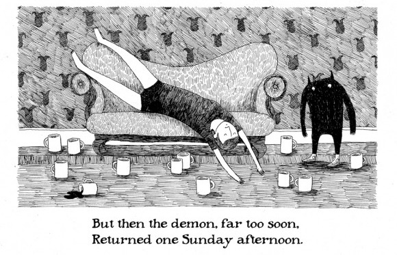 Edward Gorey the babadook