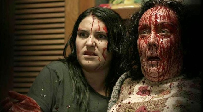 housebound movie bloody face Morgana O'Reilly