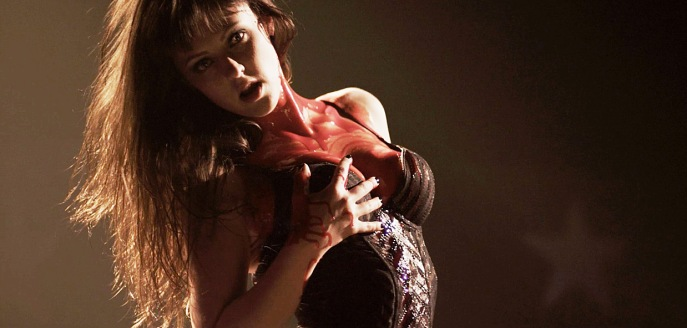 Katherine Isabelle striptease American Mary