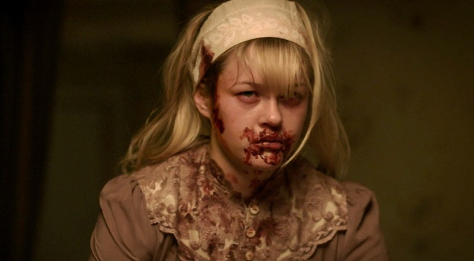 Ambyr Childers bloody face we are what we are