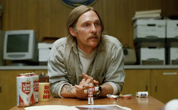 Rust Cohle lone star beer can origami