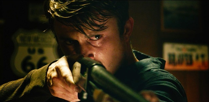 the living movie Kenny Wormald shotgun