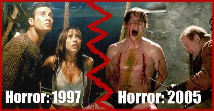 90s horror vs. 2000s horror