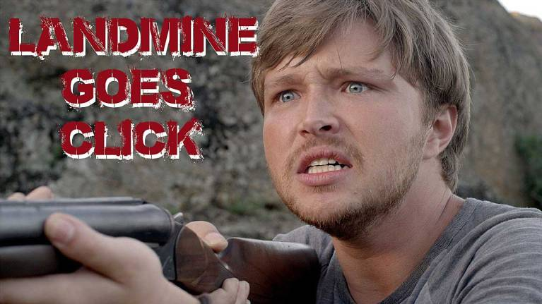 sterling knight in landmine goes click