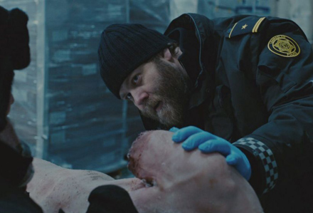 Ólafur Darri Ólafsson trapped tv series iceland corpse