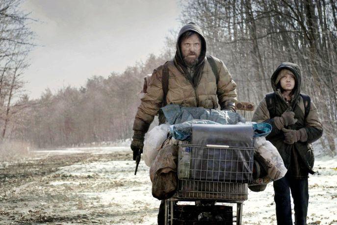 the road movie cormac mccarthy viggo mortensen