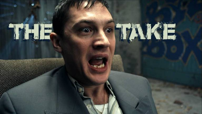 Tom Hardy as Freddie in The Take