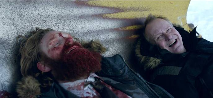 Kristofer Hivju bloody